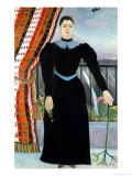 Portrait of a Woman, 1895 Giclee Print by Henri Rousseau
