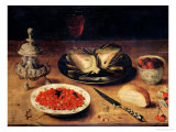 Still Life with an Artichoke Giclee Print by Osias The Elder Beert