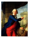 Jean-Henri Chevalier de Latude, 1789 Gicl&#233;e-Druck von Antoine Vestier