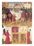 St. Martin Giclee Print by Jean Fouquet