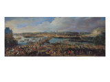 View of Rouen from Saint-Sever, circa 1715-20 Giclee Print by Pierre-Denis Martin