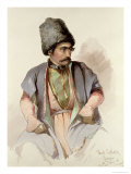 Paul - a Georgian from Tiflis, 1852 Giclee Print by Amadeo Preziosi