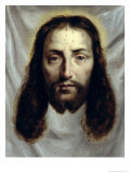 The Shroud of St. Veronica Giclee Print by Philippe De Champaigne