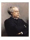 Alexandre Dumas Fils 1886 Giclee Print by Leon Joseph Florentin Bonnat