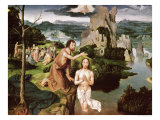 The Baptism of Christ, circa 1515 Giclee Print by Joachim Patenir
