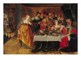 The Feast of Herod Giclee Print