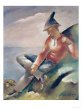 A Man Giclee Print by Eugene Zak