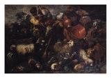 The Caravan Giclee Print by Giovanni Benedetto Castiglione