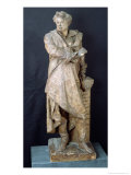 Statue of Alexandre Dumas Pere, circa 1883-87 Giclee Print by Albert-ernest Carrier-belleuse