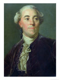 Jacques Necker circa 1781 Giclee Print by Joseph Siffred Duplessis