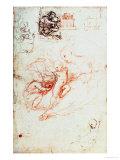 Study for the Alba Madonna, circa 1508-09 Reproduction procédé giclée par  Raphael