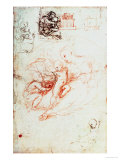 Study for the Alba Madonna, circa 1508-09 Giclee Print by  Raphael
