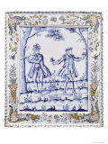 Plaque Depicting a Scene from &quot;The Magic Flute&quot; Giclee Print