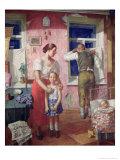 Alarm, 1934 Giclee Print by Kuzma Sergievitch Petrov-Vodkin