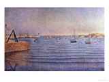 The Harbour at Portrieux, 1888 Giclee Print by Paul Signac