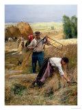 Harvesting Giclee Print by Julien Dupré