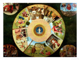 Tabletop of the Seven Deadly Sins and the Four Last Things Giclee Print by Hieronymus Bosch