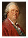 Portrait of Christoph Willibald Von Gluck, 1777 Giclee Print by Etienne Aubry