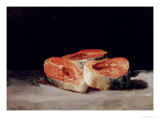 Still Life with Slices of Salmon, 1808-12 Giclee Print by Francisco de Goya