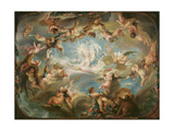 The Triumph of Cupid Over All the Gods, 1752 Giclee Print by Gabriel De Saint-aubin