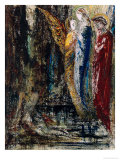 Job and the Angels, circa 1890 Giclee Print by Gustave Moreau