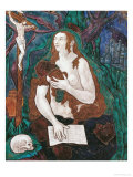 St. Mary Magdalene, Limousin Workshop Premium Giclee Print by Nardon Penicaud