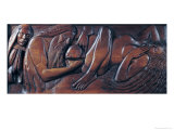 Birth, Wooden Bed Panel, 1894-96 Giclee Print by Georges Lacombe