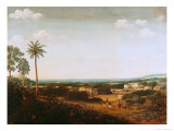 House of a Portuguese Nobleman in Brazil Giclee Print by Frans Jansz Post