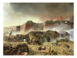 Siege of Antwerp, 23rd December 1832 Giclee Print by C. Courtois D'hurbal