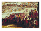 The Fair at Impruneta, Detail of the Right Hand Side, 1638 Giclee Print by Jacques Callot