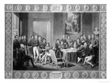 Congress of Vienna, 1814-15 Giclee Print by Jean-Baptiste Isabey
