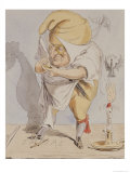 Satirical Fantasies, Caricature of Adolphe Thiers Giclee Print by A. Belloguet