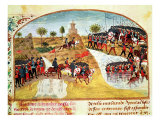 How Alexander the Great Crossed the Tigris and the Euphrates, Giclee Print