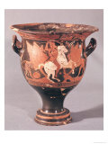 Red-Figure Krater Depicting Amazons and Griffins Giclee Print