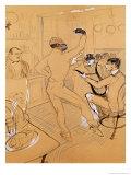 Chocolat Dancing, 1896 Giclee Print by Henri de Toulouse-Lautrec