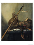 Still Life with a Pitcher and Crustaceans Giclee Print by Pieter Cornelisz. Verbeeck