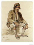 Hagiadur - from Erzerum, 1856 Giclee Print by Amadeo Preziosi