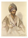 Abdullah - Kurd from Bitlis, 1852 Giclee Print by Amadeo Preziosi