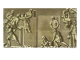 "Roman Soldiers Building a Fort, Plate 21 from ""Le Costume Ancien et Moderne"" Giclee Print by Vittorio Raineri"