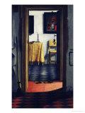 The Slippers, Late 17th Century Premium Giclee Print by Samuel van Hoogstraten