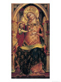 The Virgin and Child, 1372 Giclee Print by Veneziano Lorenzo
