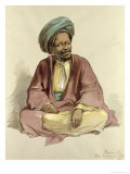 Ibrahim - from Sunnar, 1856 Giclee Print by Amadeo Preziosi