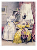 Prelude, from &quot;Journal des Femmes&quot;, 1830-48 Giclee Print by Achille Deveria