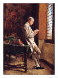 The Reader in White, 1857 Giclee Print by Jean-Louis Ernest Meissonier