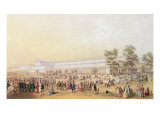 View of the Crystal Palace Giclee Print by George Baxter