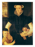 A Widow and Her Son, 1564 Giclee Print by Anthonis Mor