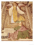 Ezekiel and the Angel Holding the Chalice of Passion, from the Sacristry of St. Mark, circa 1477 Giclee Print by Melozzo da Forl&#237; 