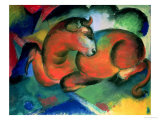 The Red Bull, 1912 Giclee Print by Franz Marc