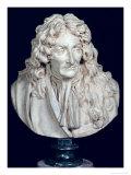 Bust of Jean de La Fontaine 1692 Giclee Print by Jean-Antoine Houdon