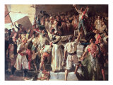 The Cry of the Palleter Declaring was on Napoleon, 1884 Giclee Print by Joaquín Sorolla y Bastida